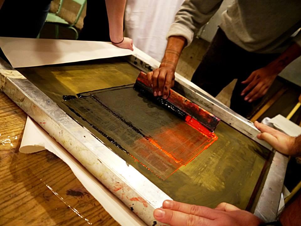 Diy screen printing t shirts the book club for Diy screen printing t shirts